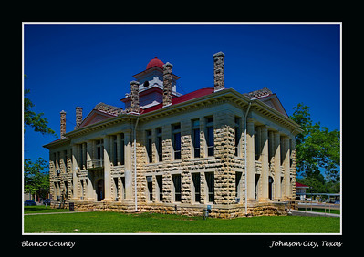 Blanco County Courthouse, Johnson City, Texas