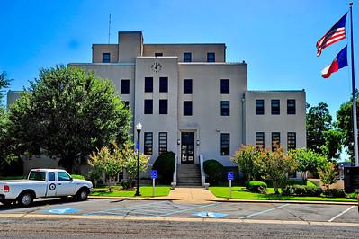 Titus County Courthouse:  Mt Pleasant, Texas