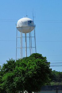 Mt Pleasant water tower