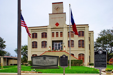 Tyler County Courthouse:  Woodville, Texas