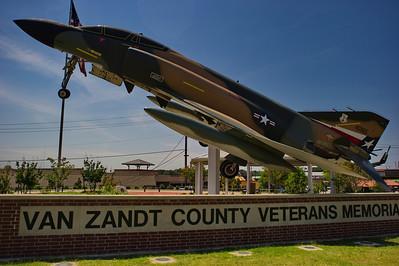 USAF F4 Phantom Veterans Memorial Canton, Texas