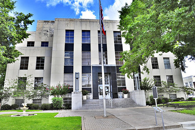 Washington County Courthouse:    Brenham, Texas