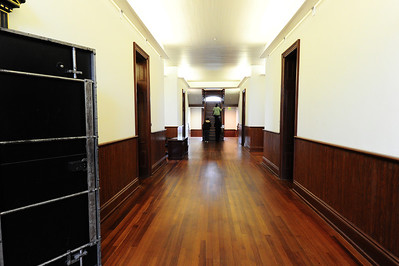 Wharton County Courthouse Interior hallway