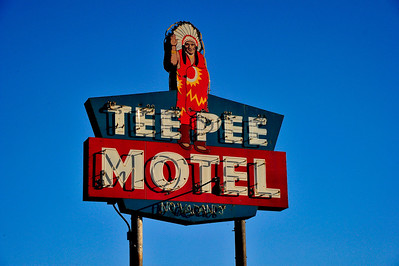 "Tee Pee Motel, Wharton, Texas  Tee Pee Motel was a location used in the movie, ""Baby the Rain Must Fall""  Baby the Rain Must Fall is a 1965 American drama film starring Lee Remick and Steve McQueen, directed by Robert Mulligan. Dramatist Horton Foote, who wrote the screenplay, based it on his play The Travelling Lady. Georgette Thomas and her six-year-old daughter Margaret Rose travel to a small southern Texas town to meet her irresponsible rockabilly singer/guitarist husband, Henry Thomas, when he is released from prison after serving time for stabbing a man during a drunken brawl. He tries to make a home for his family, but Kate Dawson, the aging spinster who raised him after his parents died, remains a formidable presence in his life and tries to sabotage his efforts, threatening to have him returned to prison if he fails to acquiesce to her demands. When the woman finally dies, Henry drunkenly destroys her possessions and desecrates her gravesite. He is returned to prison, and Georgette and Margaret Rose leave town with local sheriff Slim. The film was shot on location in the Texas cities of Bay City, Columbus, Lockhart, and Wharton. The title song, with music composed by Elmer Bernstein and lyrics written by Ernie Sheldon, was performed by Glenn Yarbrough during the opening."