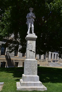 Confederate Soldiers Monument, Wilbarger County Courthouse Grounds