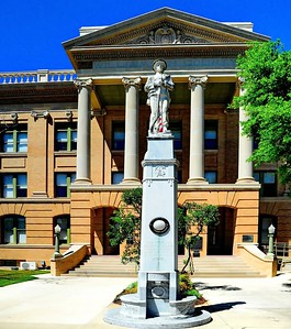 Confederate Soldiers Mounument, Williamson County Courthouse Square