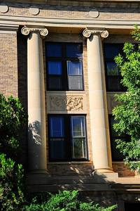 Columns in the Front Facade