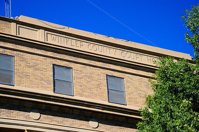 Winkler County Courthouse Front Facade