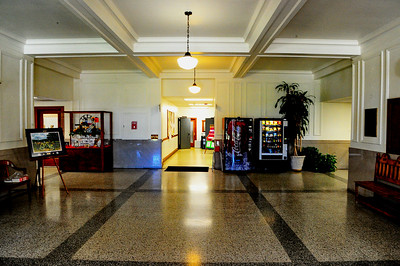 Winkler County Courthouse First Floor Hallway