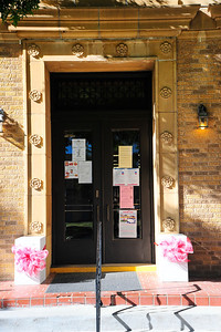 Entrance Door to the Courthouse