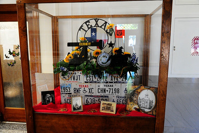 Courthouse Display in the Hallway