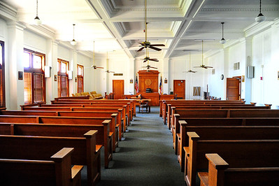 Winkler County Courthouse Courtroom