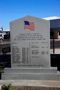 Winkler County Veterans Memorial
