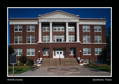 Wood County Courthouse, Quitman, Texas