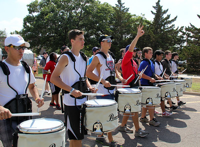 Goin' Band from Raiderland practice Tuesday 08.21.12