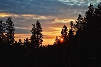 """""""Rocky Mountain Sunrise"""" - Bailey, Colorado"""