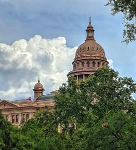 """Saluting Senator McCain"" - Texas Capitol Building - Austin, Texas"