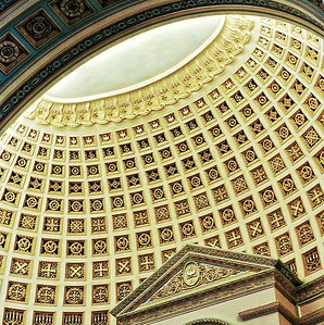 """""""Time Tested Architecture"""" - Central Christian Church, Austin Texas (Remarkable similarities with the architecture of the Pantheon, Roma)"""
