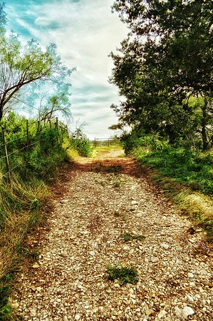 """""""Country Road"""" - Fort Griffin, Texas"""