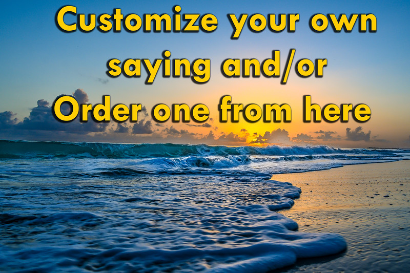 Customize your own TEXT