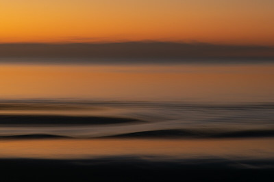Sunset Solace.  Blackpool