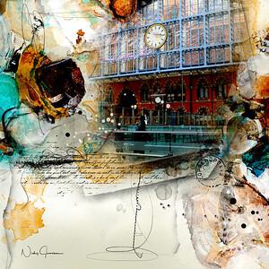 St Pancras - Dent Clock