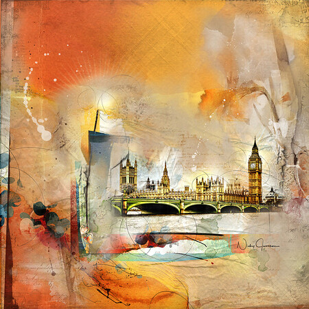 Westminster Bridge - Elizabeth Tower - Big Ben