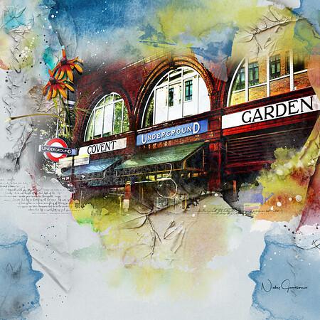 Covent Garden Underground Station