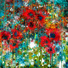 Abstract #6:  Poppies in a Field/Times of COVID19