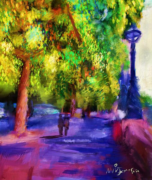 Stroll Along the Embankment