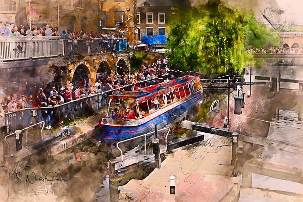 Saturday Afternoon at Camden Lock