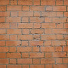 Stained brick wall