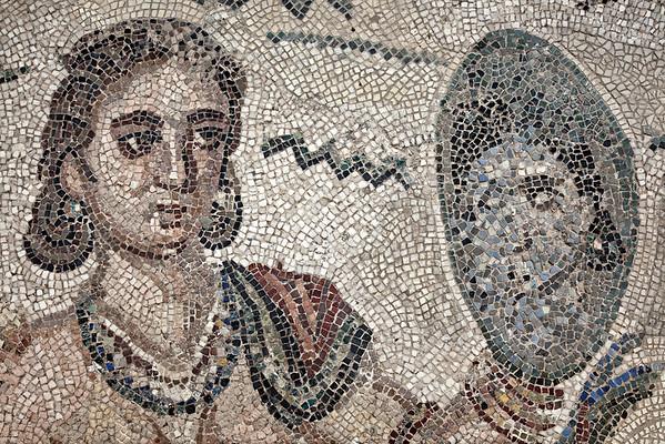 Villa Romana Del Casale, frigidarium mosaics, Piazza Armerina