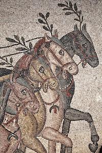 Villa Romana Del Casale, Circo Massimo mosaics, Piazza Armerina