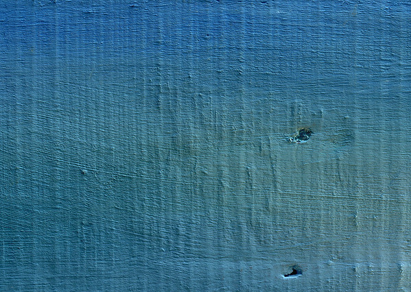 Blue-green Colored Wood, Close-up, Full Frame --- Image by © Frederic Cirou/PhotoAlto/Corbis
