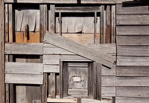 Weathered Side of Barn --- Image by © 145/James Lauritz/Ocean/Corbis