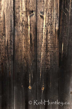 Barnboard Textures.  Detail textures of wood on a barn door.  © Rob Huntley