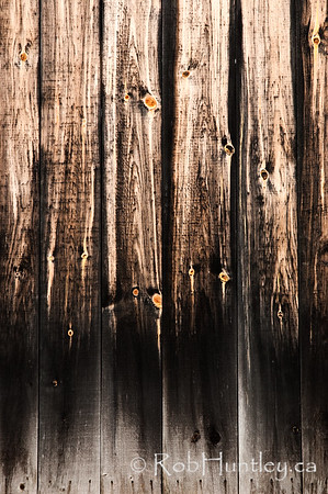 Detail textures of wood on a barn door.