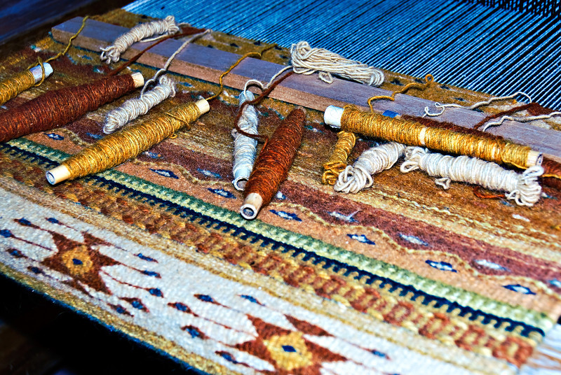 Taos Weaving