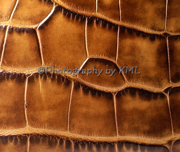 texture of a leather wallet