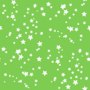 Stars on light green-2