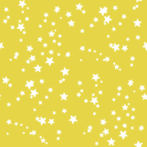 Stars on lemon yellow-2