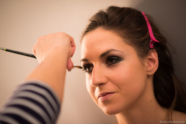 Making-Of Bilder vom Shooting mit Coline-Marie Orliac