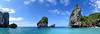 Phi-Phi island panorama.