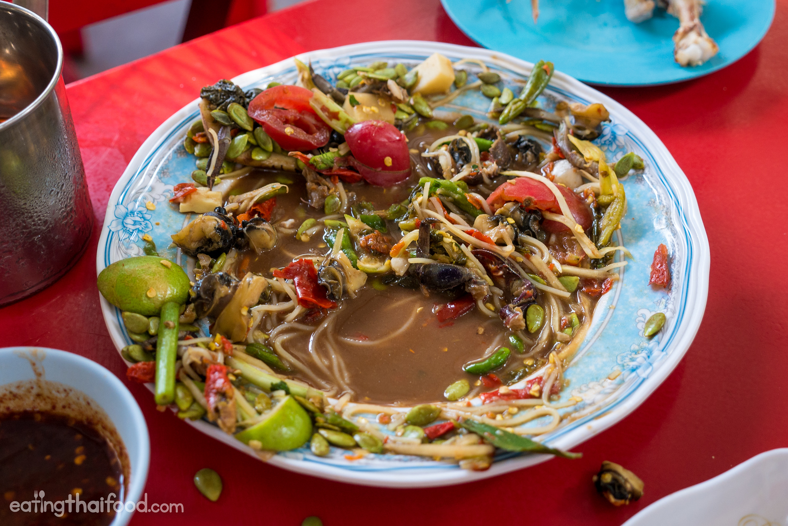 Jungle pounded salad (ตำป่า tam pa)