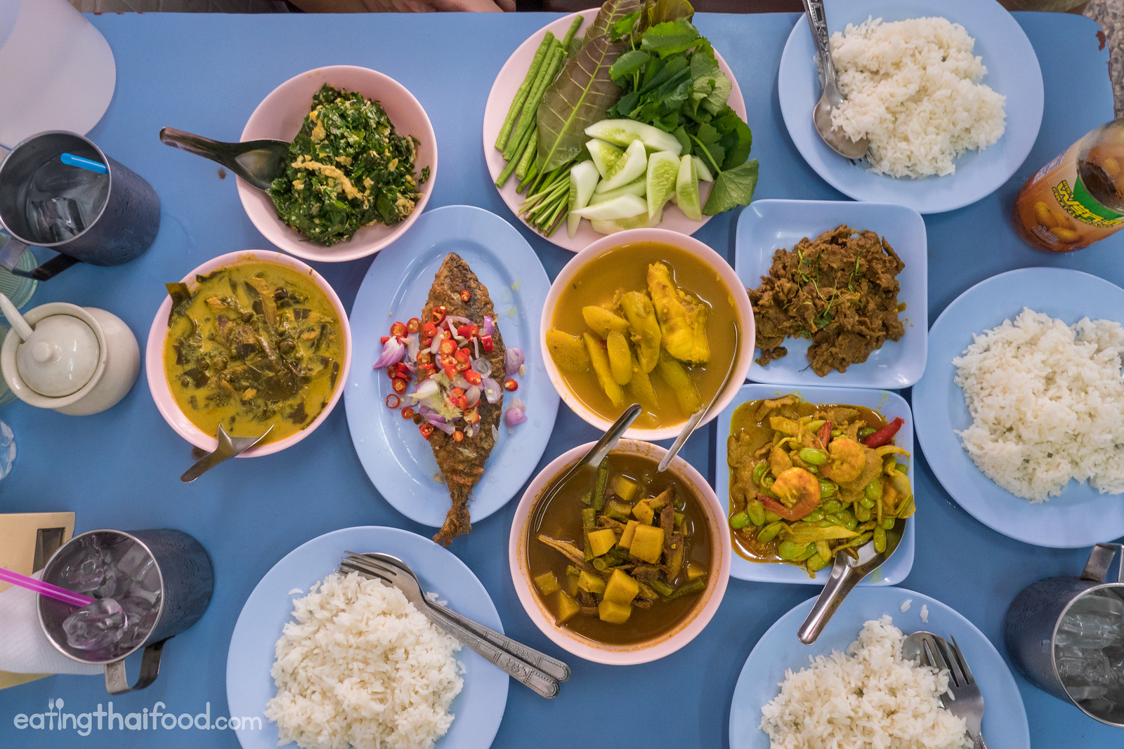 best southern Thai food in Bangkok