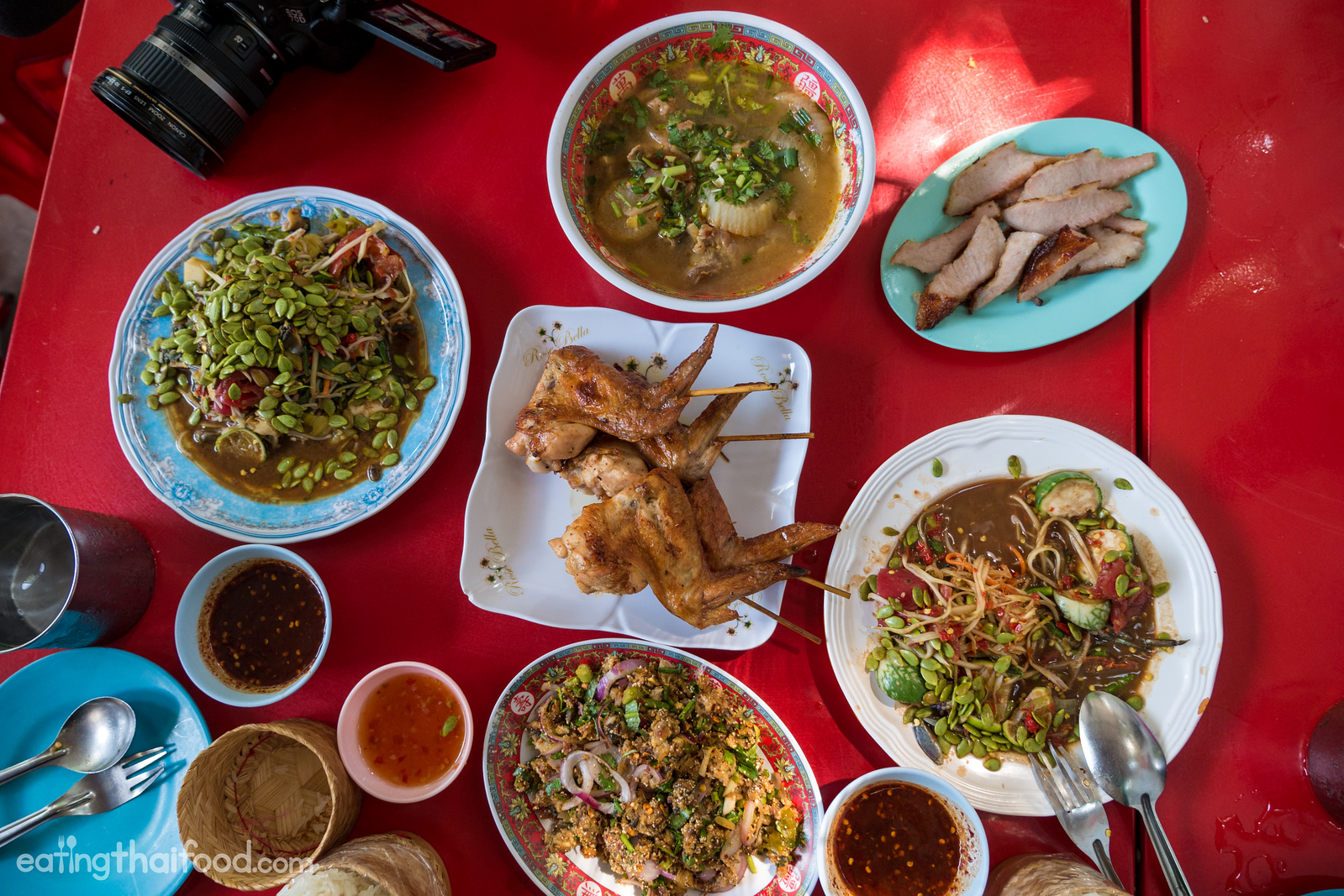best Isaan food in Bangkok