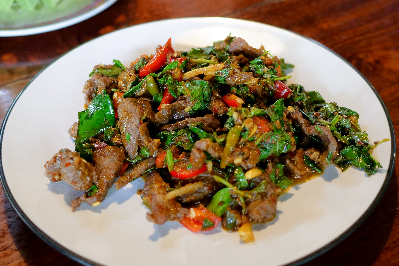Pad Pet Gwang Deer Jungle Curry at Pa Chao Restaurant