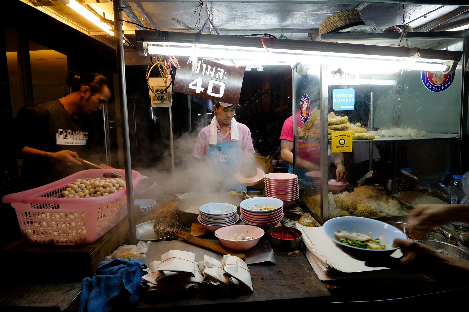 best Chinese Thai street food in Bangkok