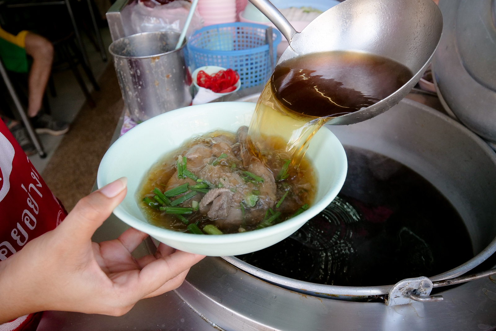 Hainanese Lime Pickle Soup with Duck